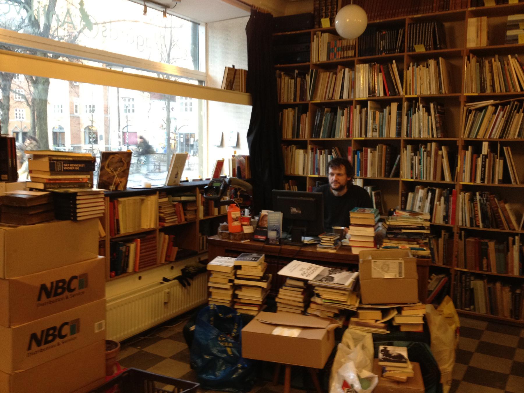 bog antikvariat københavn