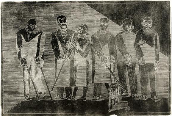 Dan Sterup-Hansen. Krigsblinde. 1952.