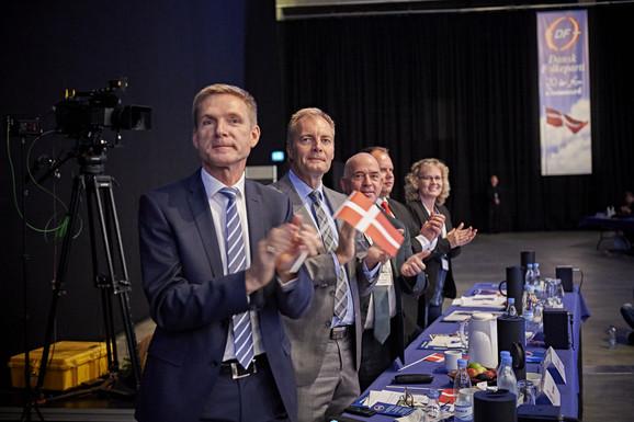 Pia Kjærsgaard blev hyldet for tro tjeneste. Foto Carsten Lundager