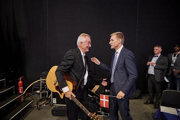 Der var mere hygge en politisk debat hos DF i weekenden. Foto: Carsten Lundager