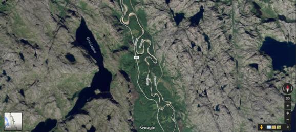 Jakobselven, der udgør grænsen mellem Norge og Sovjet