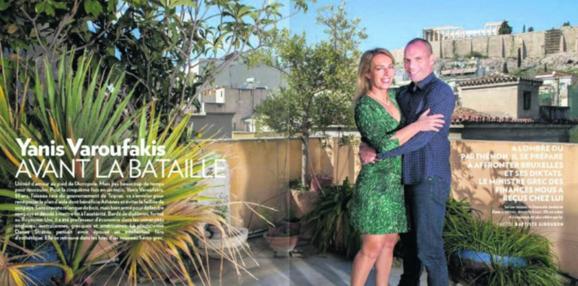 Yannis Varoufakis i skønne omgivelser