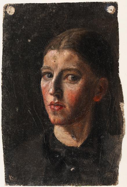 Anna Ancher: Selvportræt