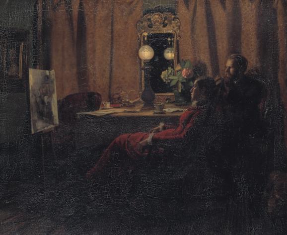 Anna og Michael Ancher: Dagens arbejde bedømmes.